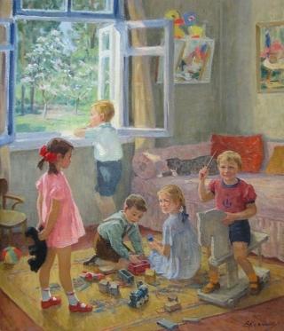 peinture d'Elena KOSTENKO